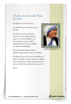 Imprima las tarjetas de oración y úselas en su hogar, o su parroquia