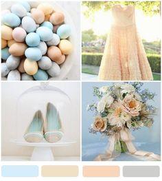 Pastel Wedding Theme Colors Themes Blue
