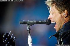 Photo © 2013 David Bergman / www.BonJovi.com/prints -- Bon Jovi at Etihad Stadium in Machester, UK on June 8, 2013.