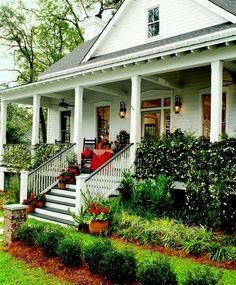 A Southern Living porch