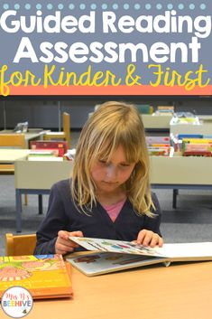 Find out how to have an organized guided reading assessment process to save you time and focus on your students' reading growth. Guided Reading Lessons, Guided Reading Levels, Reading Skills, Reading Activities, Classroom Activities, Student Reading, Kindergarten Reading, Kindergarten Blogs, Teaching Reading