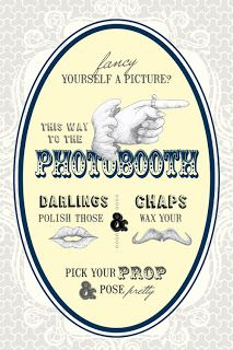 A Sign of the Times: Vintage Style Wedding and Photo Booth Signs - Top wedding blog, What Junebug Loves, best wedding ideas, dresses, decor