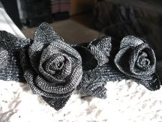 CROCHET: 2 Purses w/ Beautiful ROSES!!!