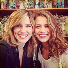 Sophia and Bethany