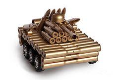Tank Photograph - Tank From Shells by Michal Boubin