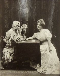 Death and the Lady - Ziegfeld Follies Series c.1906
