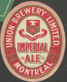 Imperial Ale by Thomas Fisher Rare Book Library, via Flickr