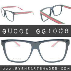 64658c746e483 Gucci GG 1008 Eyeglasses. Shop at eyeheartshades.com  gucci  guccis  eyewear