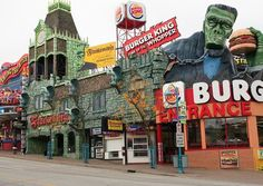 Clifton Hill, Niagara Falls, Ontario, Canada.