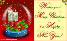 Lets welcome the year which is fresh and new,Lets cherish each moment it beholds, Lets celebrate this blissful New year. Merry X-mas
