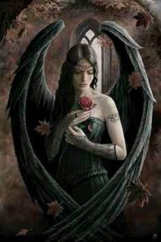 Anne Stokes Gothic Angel fantasy art