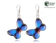 #sapphire #bright #blue #jewelry #sunnyearrings #giftforher