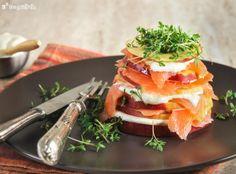 Ensalada de manzana y salmón - L´Exquisit