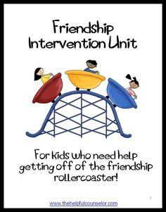 Activities that help teach students the value of positive friendship. #SocialSkills #Friendship $