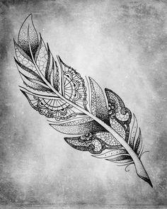 Afbeeldingsresultaat voor lace feather tattoo
