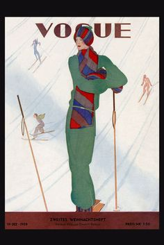 Vogue Cover by Jean Pages, 1928