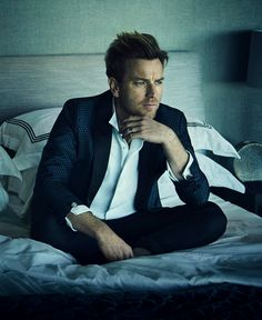 Ewan McGregor, photographed by Jason Bell for Rhapsody, May 2016.