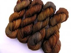 "DARK DAYS SERIES, ""RUSTED SHED"" - MERINO WORSTED"
