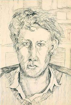 Lucian Freud, Self-portrait, 1940