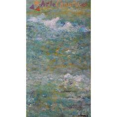 Atardecer fusión mar y cielo La Tienda de ArteCanario.es  Artista: Antonio Doreste  #artecanario #comprar #arte #canarias