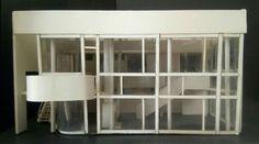 Prospetto House Shamberg - Richard Meier