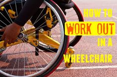 9 Ways To Work Out In A Chair or Wheelchair If you'd like to exercise more, here are 9 ways you can workout while in a seated position or a wheelchair.>>> See it. Believe it. Do it. Watch thousands of spinal cord injury videos at SPINALpedia.com Health And Wellness, Health Fitness, Adaptive Sports, Chair Exercises, Psoas Muscle, Basketball, Fitness Design, Loose Weight, Workout Programs