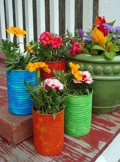 Acasa cu Ama: Cutii de conserva - idei de reciclare