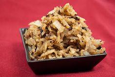 Jicama HASH BROWNS,  Vegan