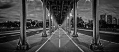 Pont de Bir Hakeim - Panorama sur le Pont de Bir Hakeim au coeur de Paris.