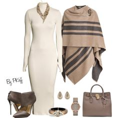 A fashion look from January 2015 featuring H&M dresses, Burberry and L.A.M.B. pumps. Browse and shop related looks.