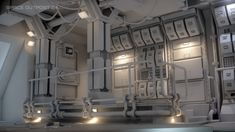 ArtStation - Space Outpost, Tim Witprächtiger