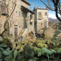Presepi e diorami in mostre per l'Italia - Videocorsi per diorami e presepi