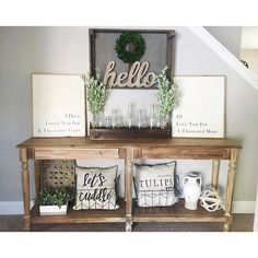 """1,731 Likes, 5 Comments - Kirkland's (@kirklands) on Instagram: """"@kristieh14 made her entryway enticing with our vase runner. To dress up your own decor, click the…"""""""