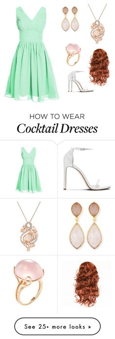 """""""Marie's Launch Party Outfit"""" by deleon-coby on Polyvore featuring Dina Mackney, LE VIAN and Goshwara"""