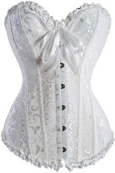 Bridal Off White Corset