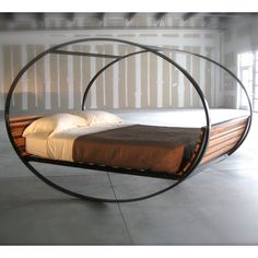 """When the bed is a rockin', don't come a knockin' - literally. """"Mood Rocking Bed"""""""