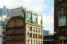 The Roof Garden Apartment, Shoreditch, London. Architects: Tonkin Liu in association with Richard Rogers