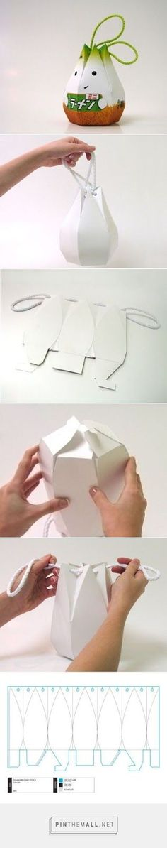 Creative Oshika Packaging on I New Idea Homepage ever wonder how this cute - Packed Gifts Cute Packaging, Brand Packaging, Packaging Design, Packaging Ideas, Packaging Supplies, Diy And Crafts, Paper Crafts, Diy Box, Box Design