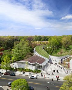 2014 AIA Institute Honor Awards for Architecture: Brooklyn Botanic Garden Visitor Center / WEISS/MANFREDI