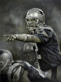 Tom Brady, NE Patriots by Brian Fox.