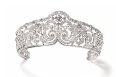 Cartier Scroll tiara, 1910