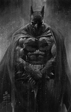 Batman by Eddy Newell #EddyNewell #Batman #BruceWayne #TheDarkKnight #Gotham #JL #JusticeLeague