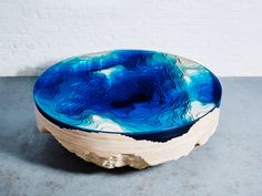 A Cross Section of the Sea Floor, Recreated in a Coffee Table | If it were off by even a hair, it would ruin the illusion. | Credit: Christopher Duffy | From Wired.com