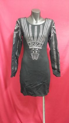LADIES LITTLE BLACK DRESS WITH EMBELLISHMENTS *CHARITY AUCTION*