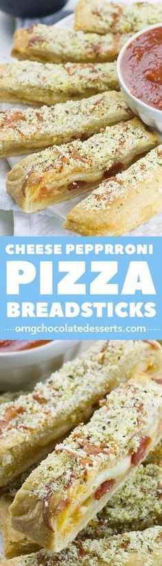 Need a last minute snack for a Game Day? Easy Cheesy Pizza Breadsticks is crowd-pleasing appetizer recipe.!!!