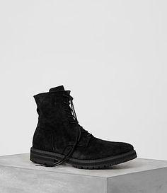 ALLSAINTS LOFT SUEDE BOOT. #allsaints #shoes #