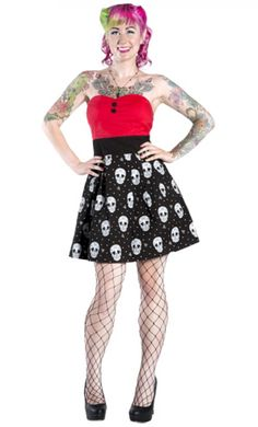 Love anything with skulls... oh and fish nets too