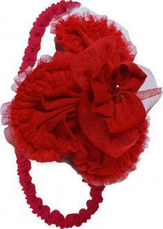 Hugs and Hissyfits, Inc. - Isobella and Chloe MONET Red Elastic Velvet Headband, $26.00 (http://www.hugsandhissyfits.com/isobella-and-chloe-monet-red-elastic-velvet-headband/)