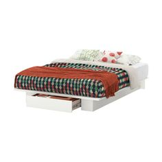 South Shore Holland Full/Queen Platform Storage Bed