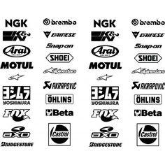 Yamaha Logo, Motos Yamaha, Jdm Stickers, Bumper Stickers, Jdm Logo, Moto Logo, Motos Kawasaki, Shoei Helmets, Letter Stencils